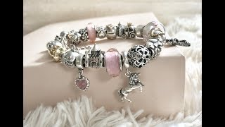Pandora Bracelet (Fairytale Love Story) and Ring Collection