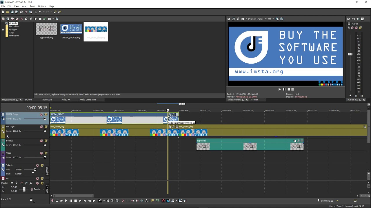 MAGIX : Creating Templates with Vegas Pro 15 - YouTube