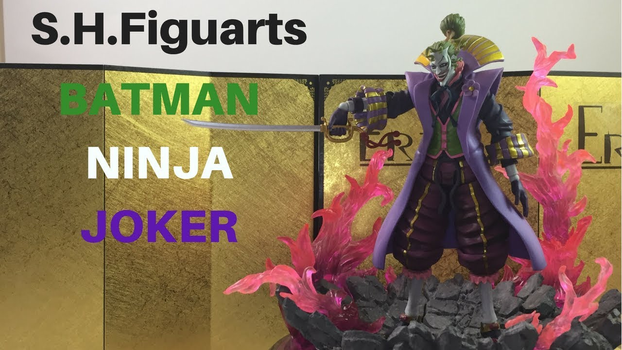 S H Figuarts Batman Ninja Joker Review Unboxing Best Shf I Have Seen In A While Youtube