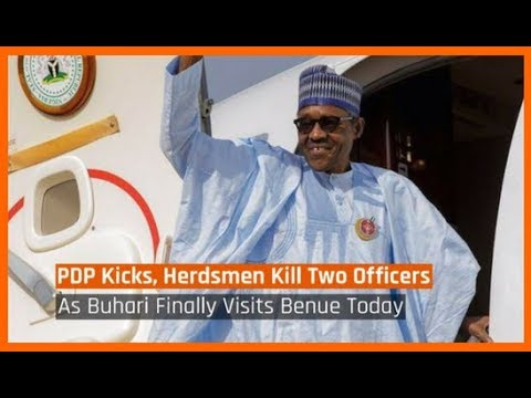 Nigeria News Today: Fulani Herdsmen Kill Two Officers As PMB Finally Visits Benue (12/03/18)