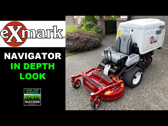 Exmark Navigator In Depth Look (2021 Model)
