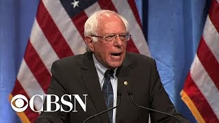 Bernie Sanders calls for '21st Century Bill of Rights'