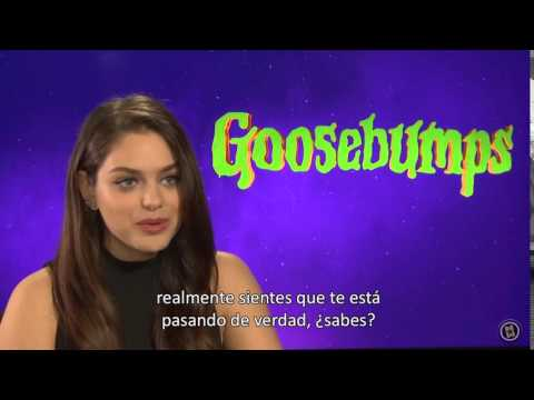 Odeya Rush Interview 2016 Goosebumps (pesadillas)