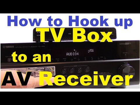 How to Connect TV Set top box to AV Receiver