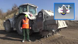 Soil stabilization grinder in hard practical use [HD] [EN]