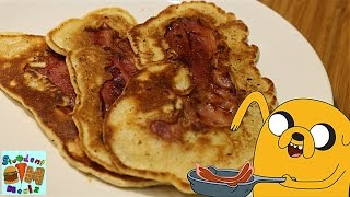BACON PANCAKES RECIPE FROM ADVENTURE TIME