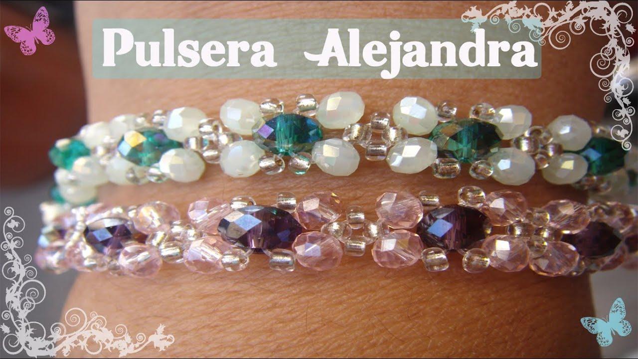 Bisuteria Pulsera Alejandra. ((6))