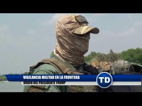 Guardia Nacional se moviliza a la frontera.