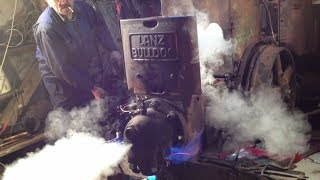 Lanz Bulldog D 9506 Part 1 - 1st start after 40 years