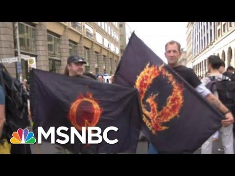QAnon Conspiracy Theory Lands On European Shores | Morning Joe | MSNBC