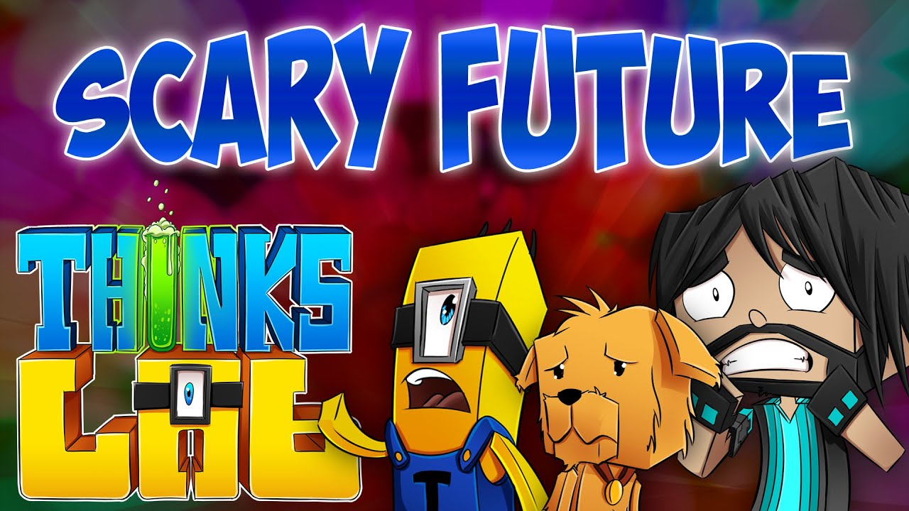 SCARY FUTURE!   Think's Lab Minecraft Mods [Minecraft Roleplay]