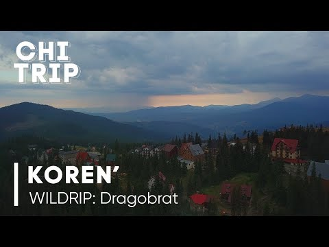 KOREN' Techno Live Set For CHI-TRIP WILDRIP RAVE Festival  At Dragobrat Dopelmayer Lift (1312m)