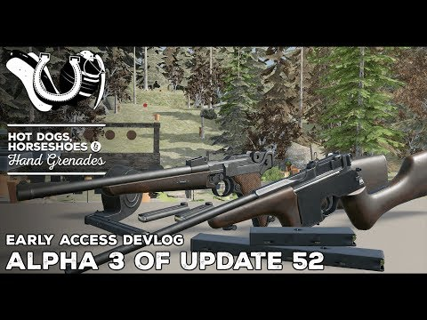 H3vr Devlog: Alpha 3 Of Update 52, Mauser & Luger Carbine