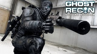 Ghost Recon Future Soldier: Stealth Rifleman Gameplay
