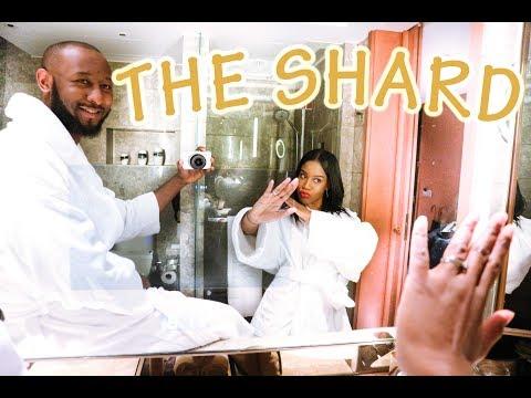 A NIGHT AT THE SHARD  - THE SHANGRI-LA HOTEL | 1 YEAR ANNIVERSARY VLOG ( RE-UPLOAD)
