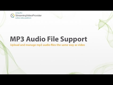 MP3 Audio Hosting & Streaming Services | Audio Podcast Streaming with PPV Support