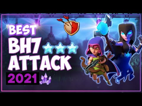 COC BEST BH7 ATTACK  STRATEGY 2019! 3 STAR MAX BUILDER HALL 7 BASE - CLASH OF CLANS
