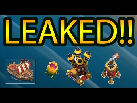 LEAKED SHIPYARD, AIR DEFENSE LV 9 AND SWEEPER LV 7 AND MORE!!