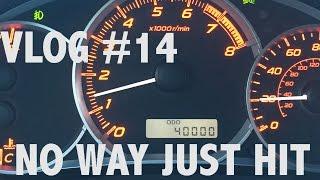 VLOG #14 Just Hit 40K in My Cobb Stage 2 WRX
