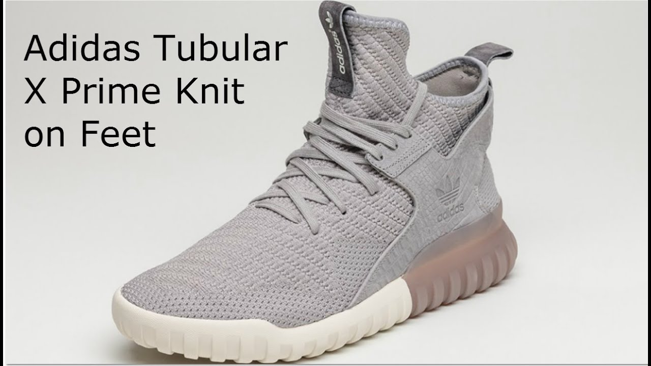 Adidas Mens Tubular X Primeknit Shoes