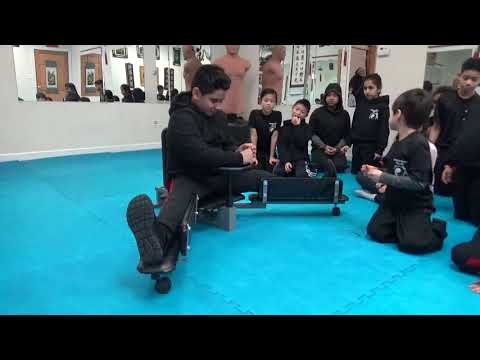 Kung Fu - The Ultimate Split Machine Challenge