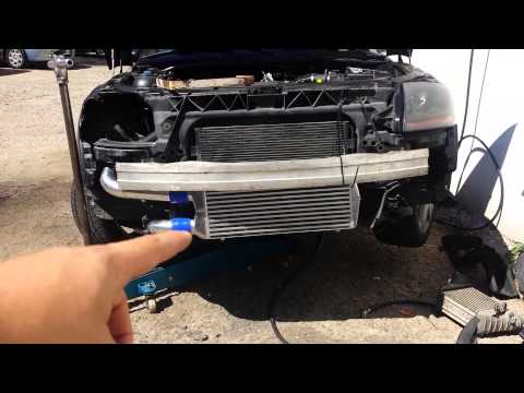 audi TT 180 front ic how to install