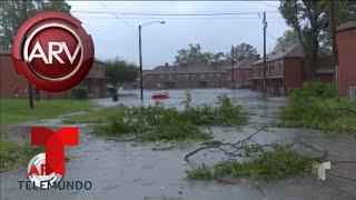 Redes sociales registran la devastación de Florence   Al Rojo Vivo   Telemundo