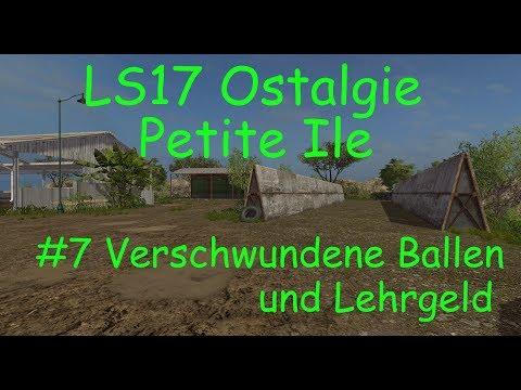 LS17 | Ostalgie | Petite Ile | #7 Verschwundene Ballen und Lehrgeld