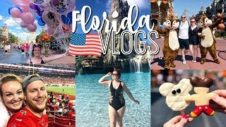 FLORIDA VLOGS 2018 | VOLCANO BAY, NFL & HAPPILY EVER AFTER! 🎆 DAY 9 - 12 | Brogan Tate AD
