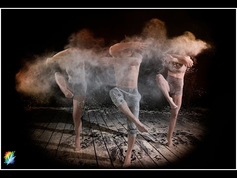 Dancing with Flour - Studio Photography Shoot - Images at end