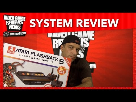 New Atari Flashback 5 System Review - Gamester81