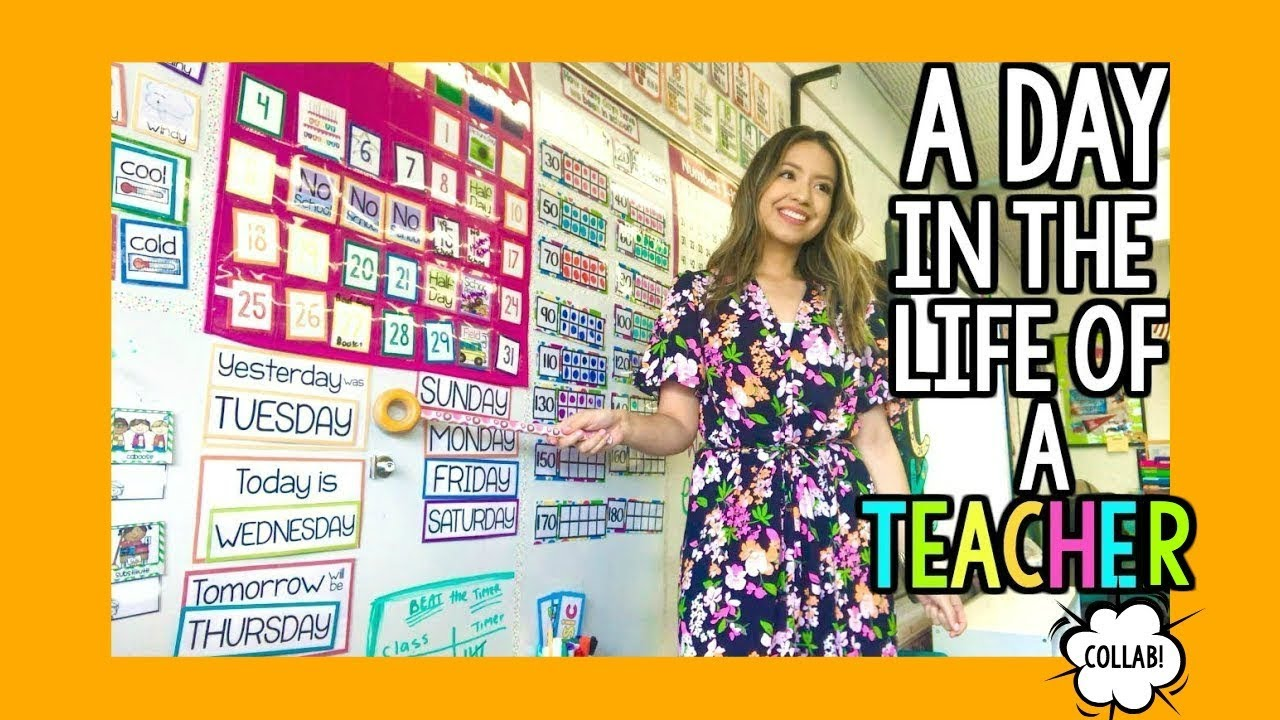 A Day in the Life of a First-Year Kindergarten Teacher! image