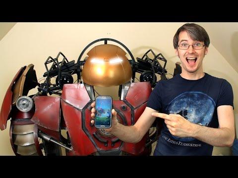 XRobots - Iron Man Hulkbuster Cosplay Part 36, Smartphone Control!