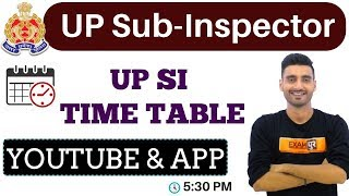 UP Sub-Inspector Classes Time Table    By Vivek Sir    Live@ 05:30 PM