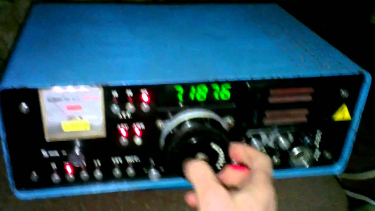 Миниатюрная цифровая шкала для приёмника на PIC16F628A - YouTube