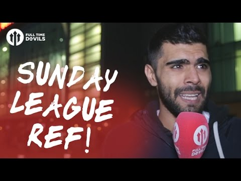 Mark Clattenburg: Sunday League Referee! | Manchester United 0-0 Burnley | REVIEW