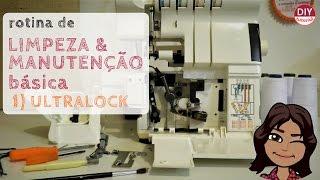 Manutenção rápida da máquina ultralock/overlock : Limpeza e lubrificação (DIY Tutorial com a Bel)