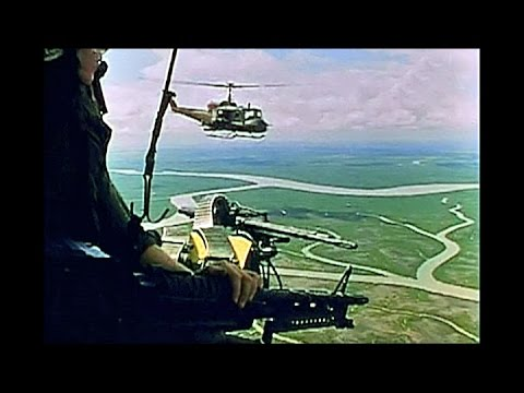'Huey' in a Helicopter War - Vietnam 1967