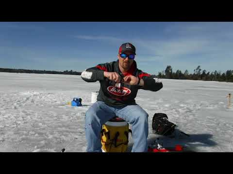 Ice-Fishing Minnow Hooking Tips