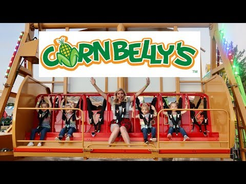 CARNIVAL Rides At CORNBELLY'S- Did They LOVE It or HATE IT