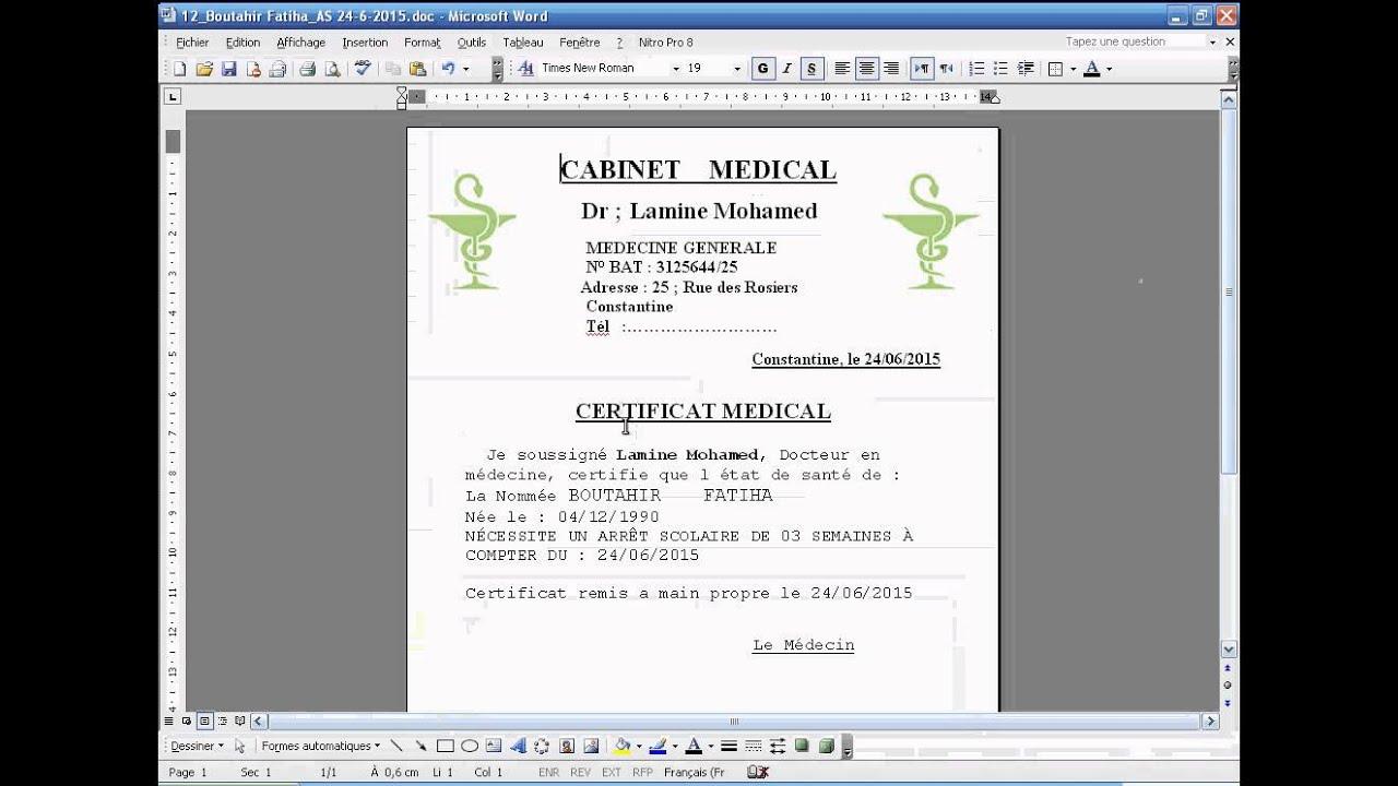 5 Medical V2 Certificat medical - YouTube