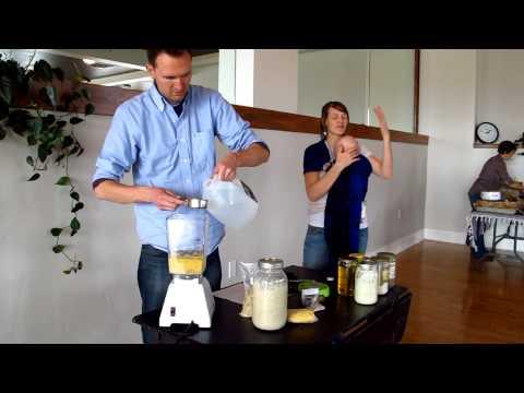 Natural Philosophy Cooking Series: Herbed Buckwheat Flatbread