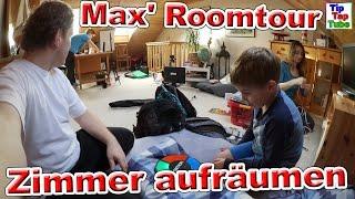 Max' Zimmer aufräumen mit der ganzen Familie| Roomtour VLOG | TipTapTube