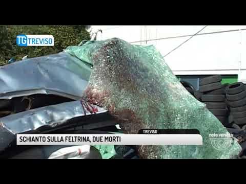 TG TREVISO (25/09/2017) - SCHIANTO SULLA...