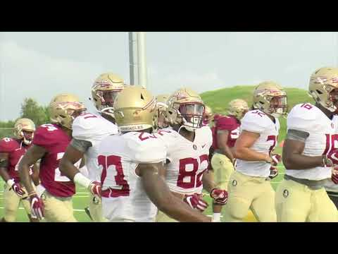 Day 7: Footage from Florida State's football practice at IMG Academy