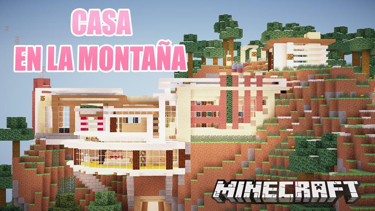 Minecraft la casa de la monta a casas de suscriptores for Casa en la montana