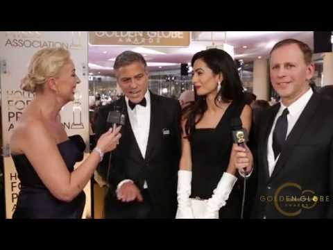 Golden Globe Cecil B. DeMille Award (Award Category) George Clooney and his wife Amal Alamuddin