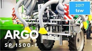 Użytkownik o opryskiwaczu do truskawek ARGO SP 1500-1