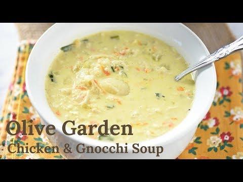 Olive Garden Chicken and Gnocchi Soup (Copycat)