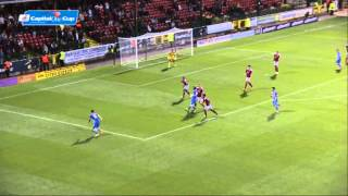 SWINDON V BRIGHTON - CAPITAL ONE CUP 2014/15